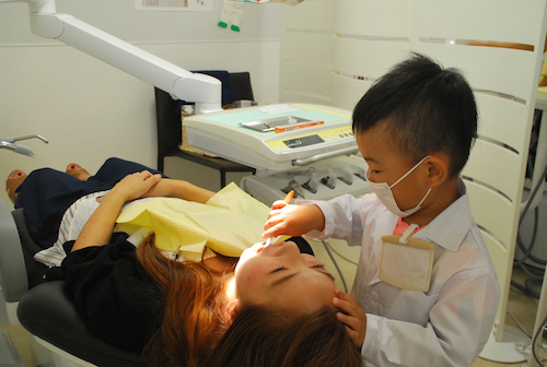 歯医者さん体験