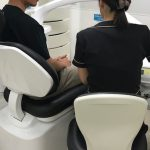 はち歯科では企業歯科検診を行っています。その1